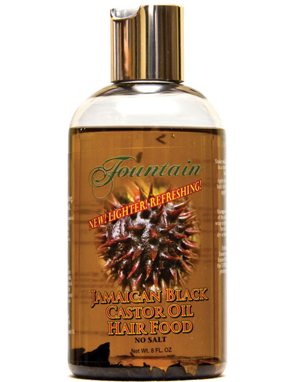 Fountain Jamaican Black Castor Oil Hair Food 8 Oz