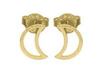 Luna Mia Stud Earring - 18k Gold Plated