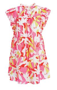 Mille Dress Pink Tropics