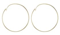 Lisa Hoop Earrings - 18k Gold Plated
