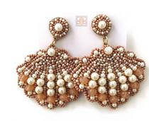 Natural Pearl Shell Earrings
