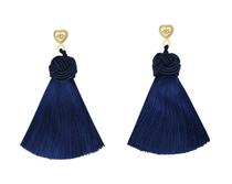 Hart Navy Blue Topknots