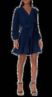 Liv Solid Pleat Dress