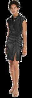 Maxwell Vegan Leather Dress