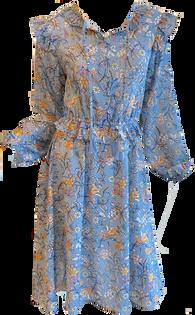 Fluttery Waist Dress
