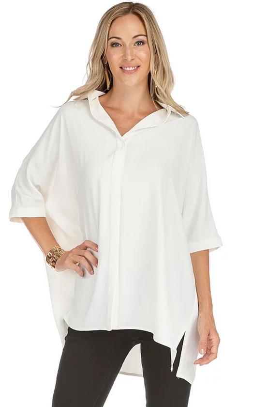 Button Over Shirt