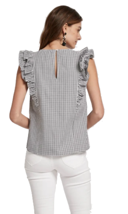 Nell Gingham Top