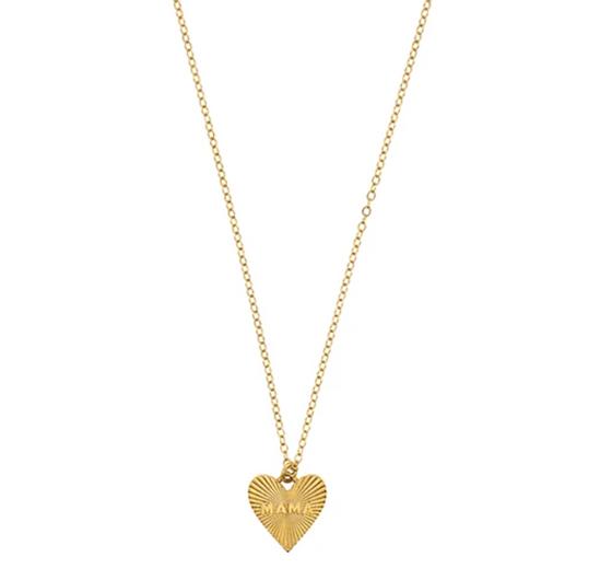 Hart Dainty Heart Mama Necklace