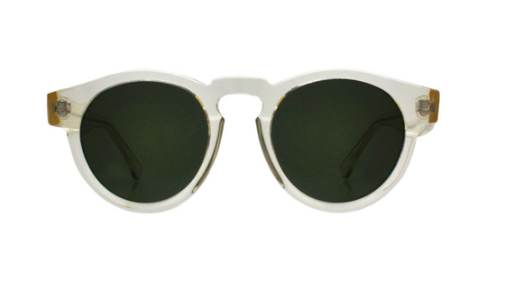 Leonard Champagne with Olive Lenses