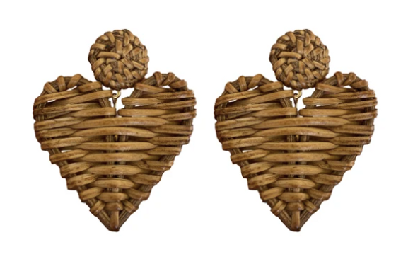 Rattan Hearts