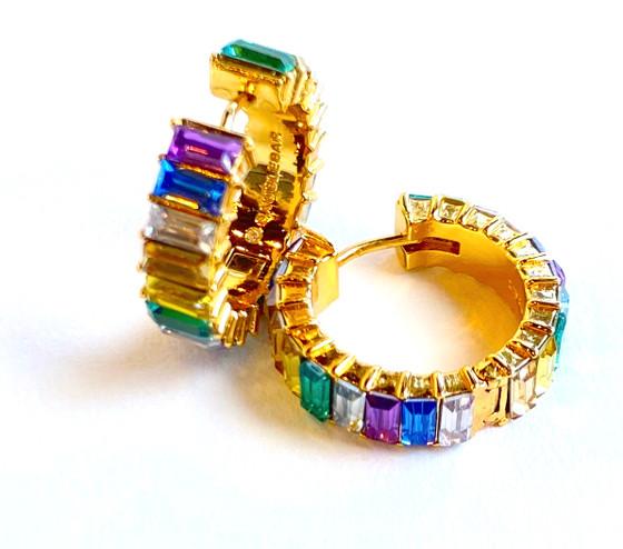Halo Huggie Earrings