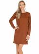 Pattern Ponte Knit Dress