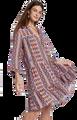 Holly Festival Skimmer Dress