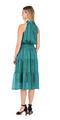 Cinch Waist Halter Dress