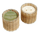 2 Wick Handwoven Candles