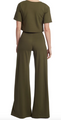 Wide Leg Pant Solid