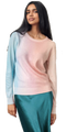 Ombre Painted Crew Neck