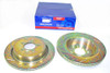 Discovery 4 Performance Drilled and Grooved Brake Disc & EBC Brake Pad Kit