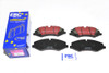 Discovery 4 L319 Performance Drilled and Grooved Brake Disc & EBC Brake Pad Kit
