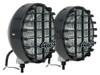 "JGS4x4   Driving Lights 8"" Round 100 Watts Black - DA4088"