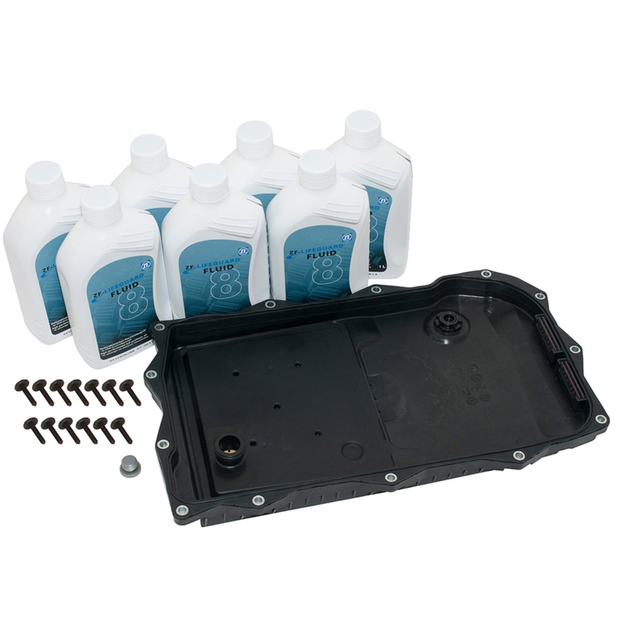 Discovery 4 Automatic Gearbox 8 Speed Sump Filter ATF Fluid Kit