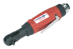 "Compact Air Ratchet Wrench 1/4""Sq Drive SEALEY - GSA634"