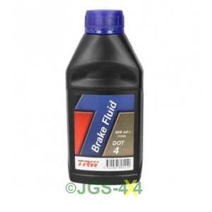 DOT4  Brake Fluid TRW 500Ml Dot 4 - PFB450