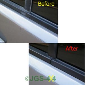Land Rover Discovery 3 & 4 Front Left Door Window Trim Weather Seal Strip - LR044650