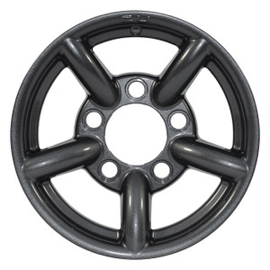 "Defender & Discovery1 & Range Rover Classic 16"" x 7"" Wheel Anthracite Gloss Zu Rim - DA2437"