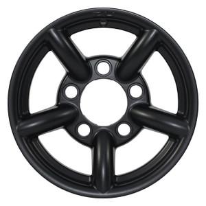 "Defender & Discovery1 & Range Rover Classic 16"" x 7"" Wheel Black Matt Zu Rim - DA2439"