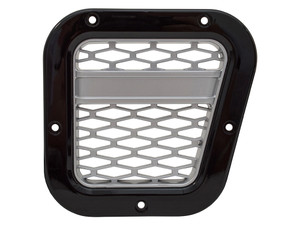 Defender XS Air Intake Grille Black With Silver Mesh Right Hand - DA1970