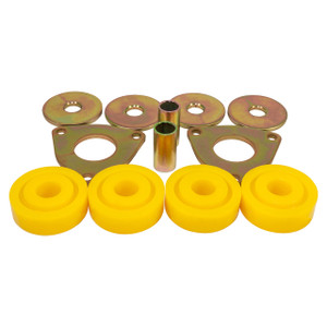 Defender & Discovery 1 & Range Rover Classic Polyurethane Rear Mounting Lower Link Bush Set Yellow - STC618PY-YELLOW