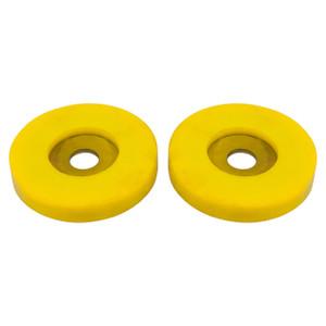 Freelander 1 Polyurethane Front Lower Arm Control Buffer Bush Set Yellow - RDB100080YELLOW