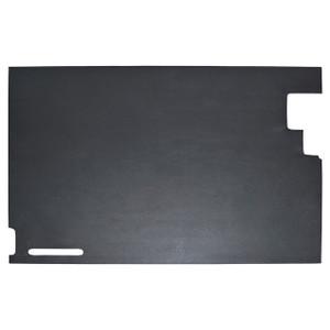 Defender & Series Rear Safari Door Trim Black 2 Hinge - DA2124