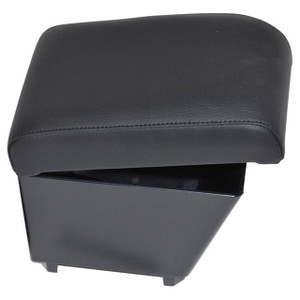 Freelander 2 LHD Cubby Box & Armrest Black Eco Leather - DA5105