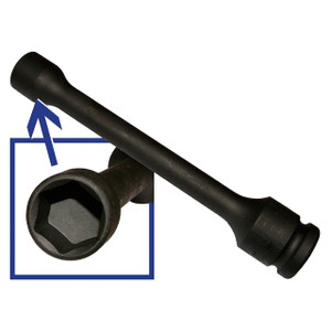 """Series & Defender & Discovery 1/2 & Range Rover Classic/P38 1/2"""" Square Drive Propshaft Nut Tool - DA1119"""