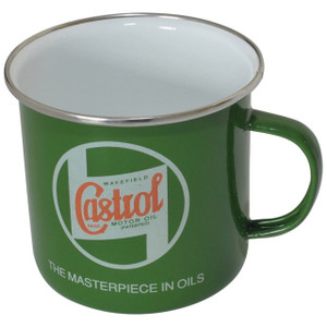 Tin Mug Green Castrol - DA6270