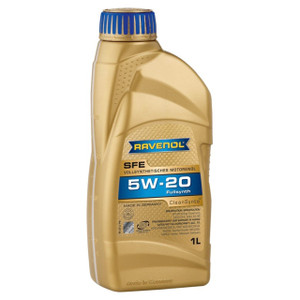 SFE SAE 5W-20 Super Fuel Economy Engine Oil 1 Litre Ravenol - DA6289