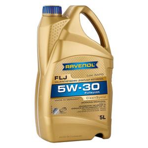 FLJ SAE 5W-30 Motor Oil 5 Litre Ravenol - DA6377