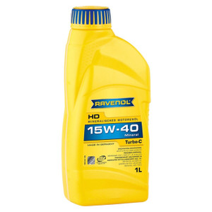 Turbo-C HD-C SAE 15W-40 Engine Oil 1 Litre Ravenol - DA6380