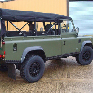 Defender 110 Soft Top Rear Roll Cage Safety Devices - RBL2447SSS