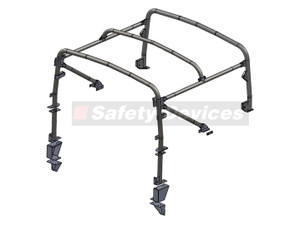 Defender 90 6 Point Roll Cage Safety Devices - RBL2367SSS