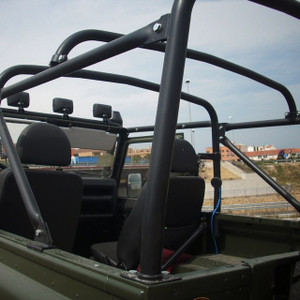 Defender 90 8 Point Soft Top Roll Cage Safety Devices  - RBL1887SSS