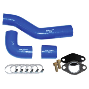 Defender & Discovery 1 & Range Rover Classic EGR Blanking & Silicone Hose Kit - DA1108TDI