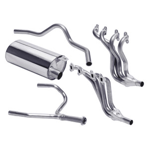 Defender 90 Stainless Steel Sports Exhaust System Double SS - DA4236