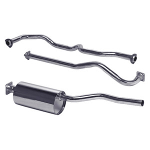 Series 3 Stainless Steel Exhaust System Double SS - DA4528