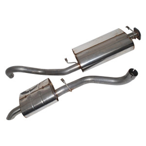 Range Rover Classic Stainless Steel Exhaust System Double SS - DA4237