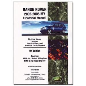 Range Rover L322 Electrical Manual Brooklands - DA3149