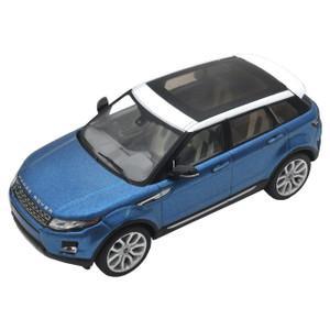 Range Rover Evoque Diecast Model Mauritius Blue - LRDCA5EVOQ
