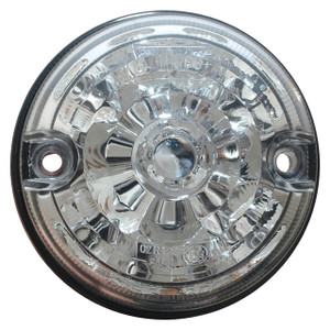 Defender & Series 2/3 Single LED Stop & Tail Light Clear Wipac - XFD100100LEDCL